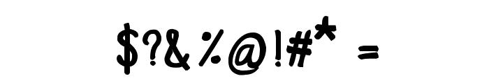 CRU-Chaipot-handwritten-blod Font OTHER CHARS