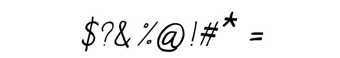 CRU-Chaipot-handwritten-ltalic Font OTHER CHARS