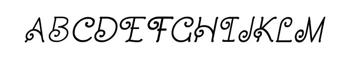 CRU-Dissaramas-Bold Italic Font UPPERCASE