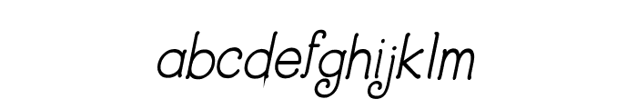 CRU-Dissaramas-Bold Italic Font LOWERCASE