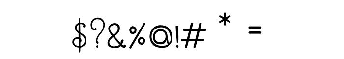 CRU-Dissaramas-Bold Font OTHER CHARS