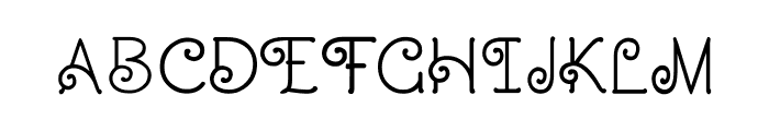 CRU-Dissaramas-Bold Font UPPERCASE