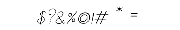 CRU-Dissaramas-Italic Font OTHER CHARS