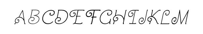 CRU-Dissaramas-Italic Font UPPERCASE