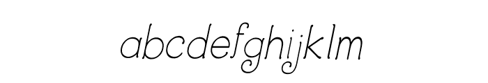 CRU-Dissaramas-Italic Font LOWERCASE