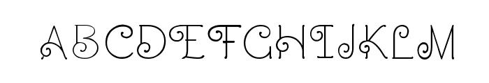 CRU-Dissaramas Font UPPERCASE