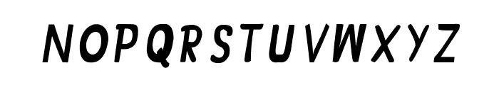 CRU-Jariya-Hand-Written- italic-Bold Font UPPERCASE