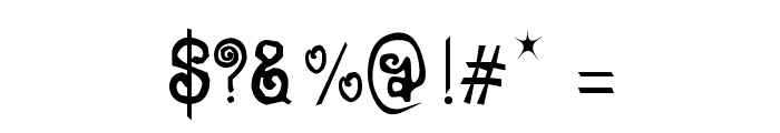 CRU-Jeelada Font OTHER CHARS