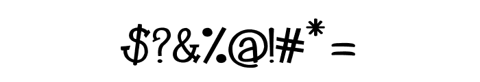 CRU-Kanda-Bold V.2 Font OTHER CHARS