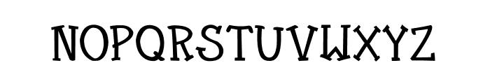 CRU-Kanda-Bold V.2 Font UPPERCASE