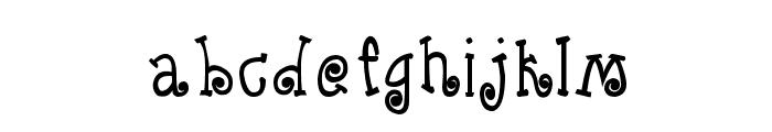 CRU-Kanda-Hand-Written-Bold Font LOWERCASE