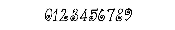 CRU-Kanda-Hand-Written-Italic Font OTHER CHARS