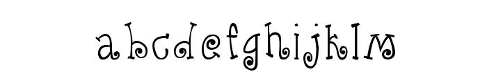 CRU-Kanda-Hand-Written Font LOWERCASE