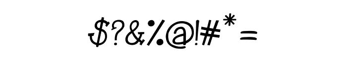 CRU-Kanda-Italic V.2 Font OTHER CHARS