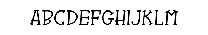 CRU-Kanda-Italic V.2 Font UPPERCASE