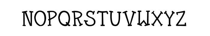 CRU-Kanda v.2 Font UPPERCASE