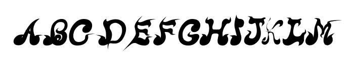 CRU-Nonthawat-Bold Italic Font UPPERCASE