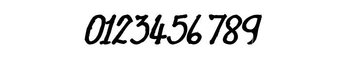 CRU-Nonthawat-Hand-Written Bold-Italic Font OTHER CHARS
