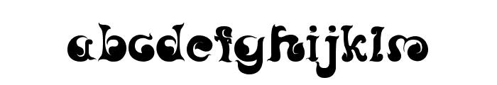 CRU-Nonthawat-Regular- Font LOWERCASE