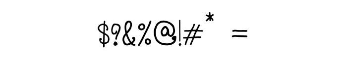 CRU-Pantgarn-written Font OTHER CHARS