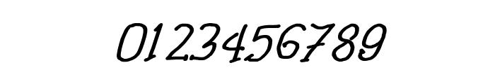 CRU-Pharit-Hand-Written v2 Bold Italic Font OTHER CHARS