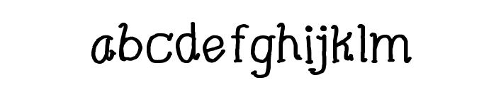 CRU-Pharit-Hand-Written v2 Bold Font LOWERCASE