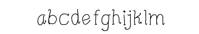 CRU-Pharit-Hand-Written v2 Regular Font LOWERCASE