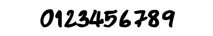CRU-Pharit-Hand-WrittenBold Font OTHER CHARS
