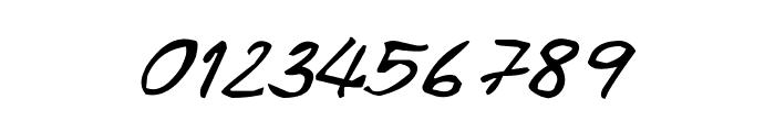CRU-Pharit-Hand-WrittenItalic Font OTHER CHARS