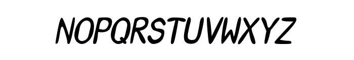 CRU-Saowalak-Bold-Italic Font UPPERCASE