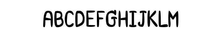 CRU-Saowalak-Bold Font UPPERCASE