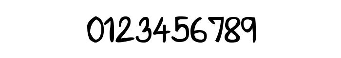 CRU-Saowalak-Hand-Written-Bold Font OTHER CHARS
