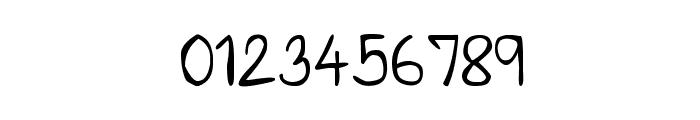 CRU-Saowalak-Hand-Written Font OTHER CHARS