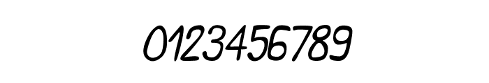 CRU-Saowalak-Italic Font OTHER CHARS