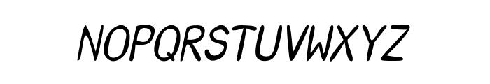 CRU-Saowalak-Italic Font UPPERCASE