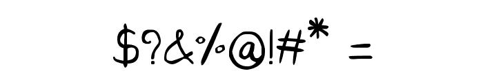 CRU-Saowalak-Regular Font OTHER CHARS