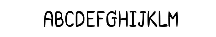 CRU-Saowalak-Regular Font UPPERCASE