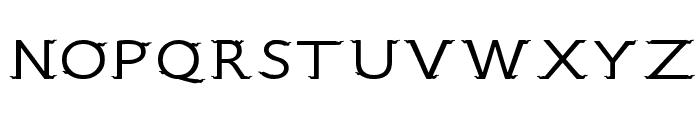 CRU-Sukkawitt-Regular Font UPPERCASE