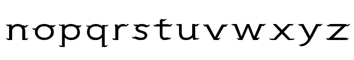 CRU-Sukkawitt-Regular Font LOWERCASE