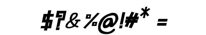 CRU-Suttinee-Bold-Italic Font OTHER CHARS