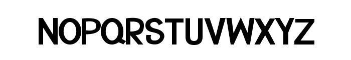 CRU-Suttinee-Bold Font UPPERCASE