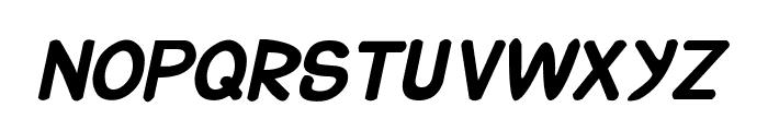 CRU-Suttinee-Hand-Written-Bold Font UPPERCASE