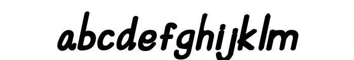 CRU-Suttinee-Hand-Written-Bold Font LOWERCASE