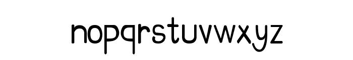 CRU-Suttinee-Hand-Written Font LOWERCASE