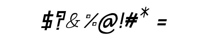 CRU-Suttinee-Italic Font OTHER CHARS