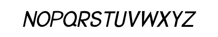 CRU-Suttinee-Italic Font UPPERCASE