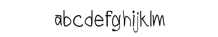 CRU-Todsaporn-Hand-Written-Bold Font LOWERCASE