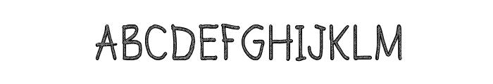CRU-Todsaporn-sketch-book Font UPPERCASE