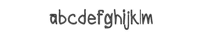 CRU-Todsaporn-sketch-book Font LOWERCASE