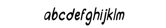 CRU-chonticha-handwrittenItalic Font LOWERCASE
